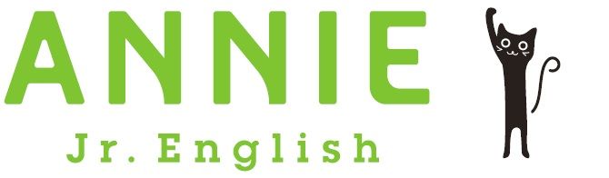 ANNIE Jr Englishロゴ